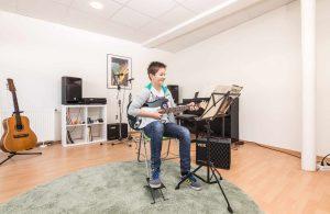 E-Gitarre Musikwerkstatt Weingarten